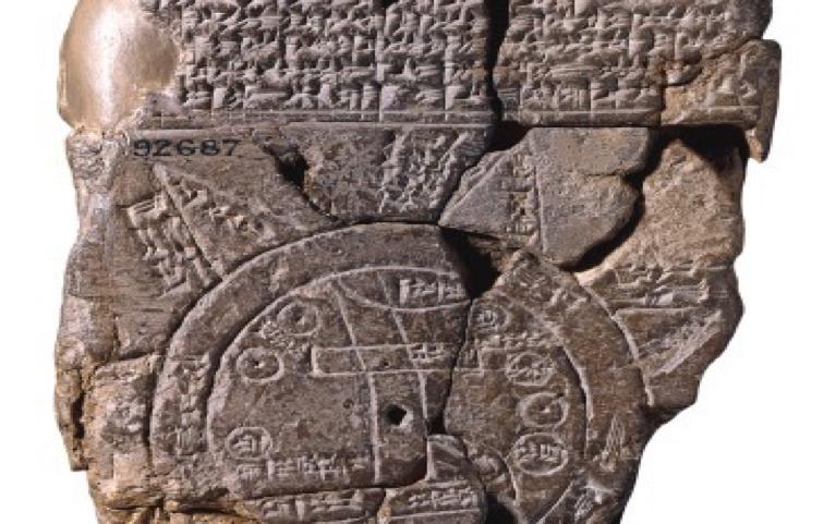 Babylonian Maps – 600 BC