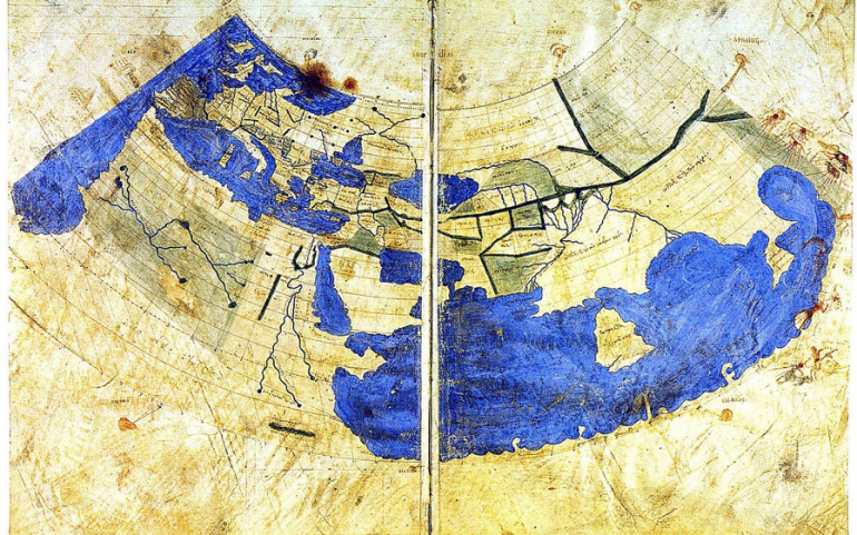Ptolemy's Map – 150 AD