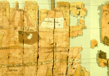 Turin Papyrus Map 1150 BC