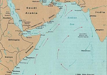 CIA Map – 1976 AD